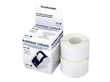 SLP-2RL -- 260-LABELS 1-1/8 X 3-1/2 FOR    SEIKO LABEL PRINTERS                -- New