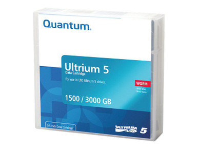 MR-L5WQN-BC -- QUANTUM DATA CARTRIDGE, LTO ULTRIUM 5 WORM, PRE-LABELED. MUST ORDER IN MULTIPLES -- New