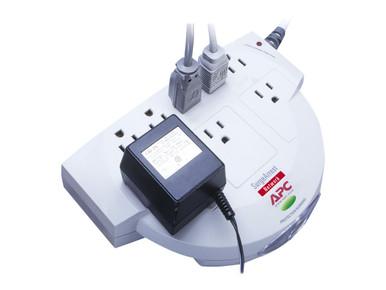 NET8 -- APC SurgeArrest Network - Surge protector - AC 120 V - output connectors: 8 - beige