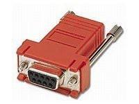 02944 -- RJ45 / DB9F MOD ADPTR RED -- New