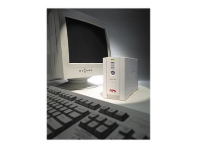 BK350 -- APC Back-UPS CS 350 - UPS - AC 120 V - 210 Watt - 350 VA - USB - output connectors: 6 - be -- New