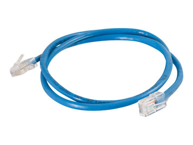 24380 -- C2G Cat5e Non-Booted Unshielded (UTP) Network Patch Cable - Patch cable - RJ-45 (M) to RJ- -- New