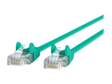 A3L791-09-PUR -- Belkin - Patch cable - RJ-45 (M) to RJ-45 (M) - 9 ft - CAT 5e - purple - for Omniview SMB  -- New