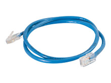 SYHF6KT -- C2G Cat5e Non-Booted Unshielded (UTP) Network Patch Cable - Patch cable - RJ-45 (M) to RJ-45 (M) - 1