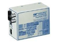 4494-1 -- 1X T1/E1 COAX+RJ45 / FIBER      FLEXPOINT T1/E1 SC SM 1310 60KM     -- New