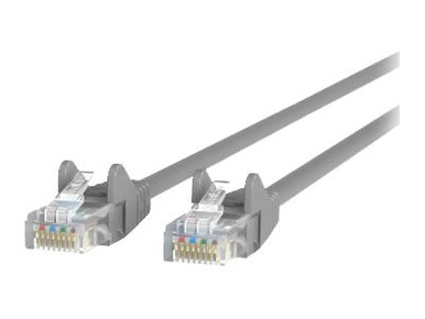 A3L791-04-BLU-S -- Belkin - Patch cable - RJ-45 (M) to RJ-45 (M) - 4 ft - UTP - CAT 5e - booted, snagless - b -- New