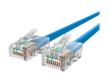 A3L791-10-BLU -- Belkin - Patch cable - RJ-45 (M) to RJ-45 (M) - 10 ft - UTP - CAT 5e - blue - B2B - for Om -- New