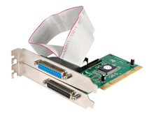 PCI2PECP -- StarTech.com 2 Port PCI Parallel Adapter Card - EPP/ECP - Parallel adapter - PCI - IEEE 12 -- New