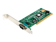 PCI1S550 -- StarTech.com 1 Port PCI RS232 Serial Adapter Card with 16550 UART - Serial adapter - PCI - RS-232