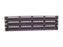 "F4P338-96-AB5 -- Belkin - Patch panel - black - 19"" - 96 ports"