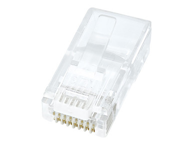 R6G088-100 -- C2G 1ft Cat6a Snagless Unshielded (UTP) Network Patch Ethernet Cable-Gray - Patch cable - RJ-45 (M)