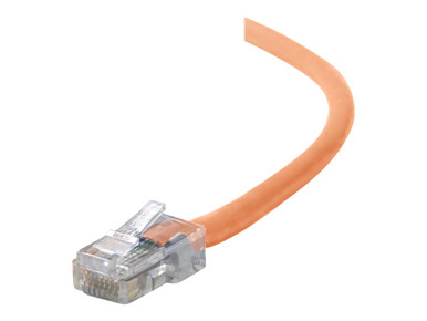 A3L791-15-ORG -- C2G Cat5e Snagless Unshielded (UTP) Network Patch Cable - Patch cable - RJ-45 (M) to RJ-45 (M) - 14