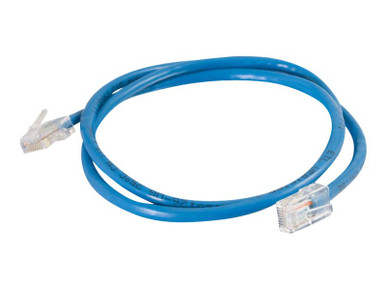 24393 -- C2G Cat5e Non-Booted Unshielded (UTP) Network Patch Cable - Patch cable - RJ-45 (M) to RJ-45 (M) - 5