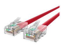 A3L791-12-RED -- Belkin - Patch cable - RJ-45 (M) to RJ-45 (M) - 12 ft - UTP - CAT 5e - red - for Omniview SMB 1x16,