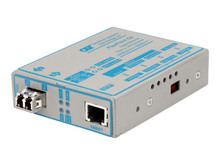 4673-1 -- Omnitron FlexPoint Gx - Transceiver - GigE - 1000Base-LX, 1000Base-T - up to 6.2 miles