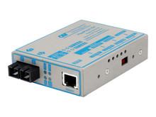 4372-1 -- Omnitron FlexPoint T1/E1 - Transceiver - fiber optic, Coax - up to 17.4 miles - T-1/E-1
