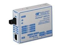 4670-0 -- Omnitron FlexPoint Gx - Transceiver - GigE - 1000Base-SX, 1000Base-T - up to 722 ft