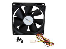 FAN9X25TX3H -- StarTech.com High Flow Case Fan with TX3 Connector - System fan kit - 92 mm