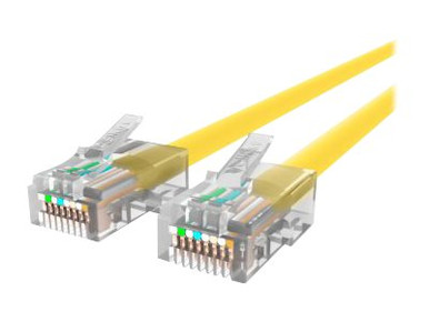 A3L791-05-YLW -- Belkin - Patch cable - RJ-45 (M) to RJ-45 (M) - 20 ft - CAT 5e - yellow - B2B - for Omniview SMB 1x1