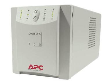 SU700X167 -- APC Smart-UPS 700VA - UPS - AC 120/230 V - 450 Watt - 700 VA - output connectors: 6 - beig -- New