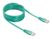 A3L791-20-WHT-S -- Belkin - Patch cable - RJ-45 (M) to RJ-45 (M) - 3 ft - UTP - CAT 5e - green - for Omniview SMB 1x16,