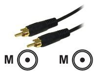 03167 -- C2G Value Series 6ft Value Series Mono RCA Audio Cable - Audio cable - RCA (M) to RCA (M)  -- New