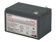 RBC7 -- APC Replacement Battery Cartridge #7 - UPS battery - 1 x lead acid - black - for P/N: SMT1 -- New