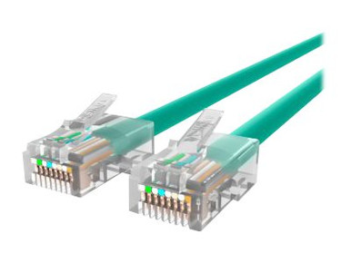 A3L791-03-BLU-S -- Belkin 3ft CAT5e Ethernet Patch Cable Snagless, RJ45, M/M, Blue - Patch cable - RJ-45 (M)  -- New