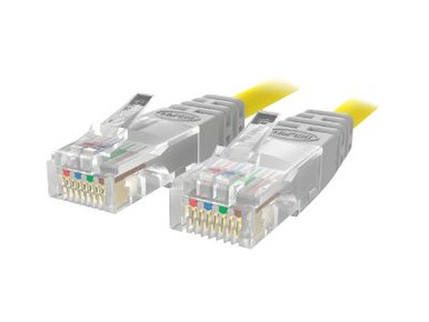 24354 -- C2G Cat5e Non-Booted Unshielded (UTP) Network Patch Cable - Patch cable - RJ-45 (M) to RJ- -- New