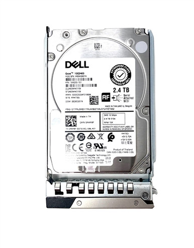 "400-AVEZ -- DELL 2.4TB 10K SAS 2.5"" 12Gb/s HDD"