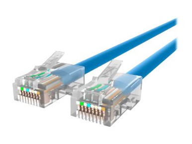 A3L791-12-BLU -- Belkin - Patch cable - RJ-45 (M) to RJ-45 (M) - 12 ft - UTP - CAT 5e - blue - B2B - for Om