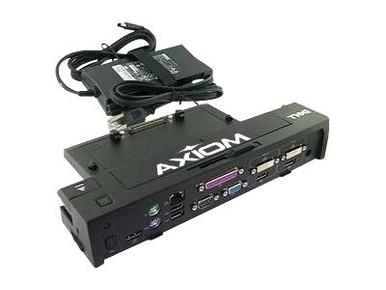 331-6304-AX -- Axiom AX - Port replicator - VGA, 2 x DVI, 2 x DP - 130 Watt - for Dell Latitude E5270, E5