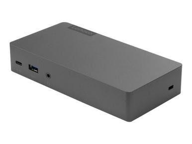 40AV0135US -- Lenovo Thunderbolt 3 Essential Dock - Port replicator - Thunderbolt 3 - HDMI, DP - GigE -