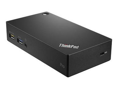 40A70045US -- Lenovo ThinkPad USB 3.0 Pro Dock - Docking station - USB - DP - GigE - 45 Watt - for Think