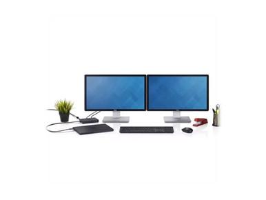450-AFGM -- Dell Dock WD15 - Docking station - USB-C - VGA, HDMI, Mini DP - GigE - 130 Watt - for Venu