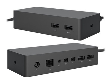 PF3-00005-AX -- Axiom - Docking station - Surface Connect - 2 x Mini DP - GigE - for Microsoft Surface Boo