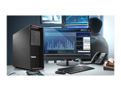 30BA00FUUS -- Lenovo ThinkStation P720 30BA - Tower - 2 x Xeon Silver 4208 / 2.1 GHz - vPro - RAM 32 GB