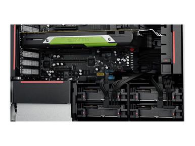 30BE0050US -- Lenovo ThinkStation P520 30BE - Tower - 1 x Xeon W-2125 / 4 GHz - RAM 8 GB - SSD 256 GB -