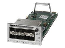 C3850-NM-8-10G -- Cisco - Expansion module - 10 Gigabit SFP+ / SFP (mini-GBIC) x 8 - for Catalyst 3850-12X48