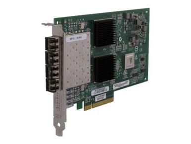 P9D91A -- HPE StoreFabric 84Q - Host bus adapter - PCIe 2.0 x4 / PCIe x8 low profile - 8Gb Fibre Cha