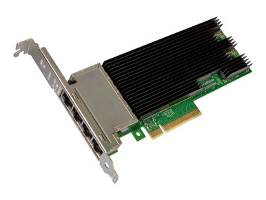 X710T4BLK -- Intel Ethernet Converged Network Adapter X710-T4 - Network adapter - PCIe 3.0 x8 low profi