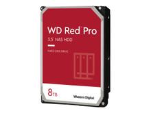 """WD8003FFBX -- WD Red Pro NAS Hard Drive WD8003FFBX - Hard drive - 8 TB - internal - 3.5"""" - SATA 6Gb/s - 7200 rpm -"""