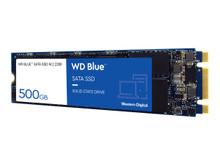 WDS500G2B0B -- WD Blue 3D NAND SATA SSD WDS500G2B0B - Solid state drive - 500 GB - internal - M.2 2280 - SATA 6Gb/s