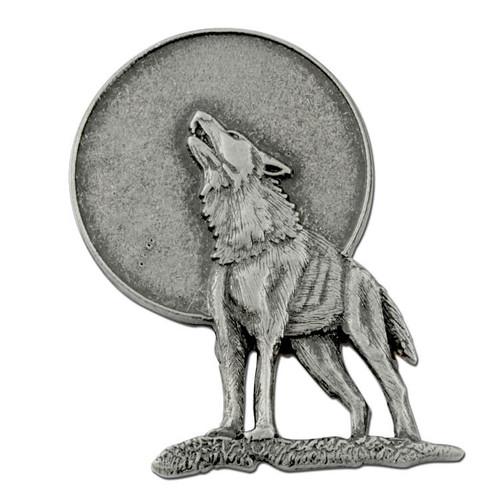G33 Lone Wolf Lapel Pin