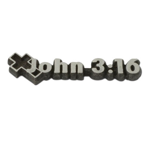 John 3:16 Lapel Pin