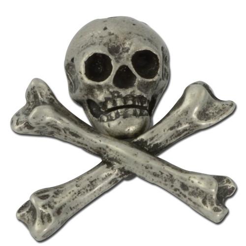 Skull & Bones Lapel Pin
