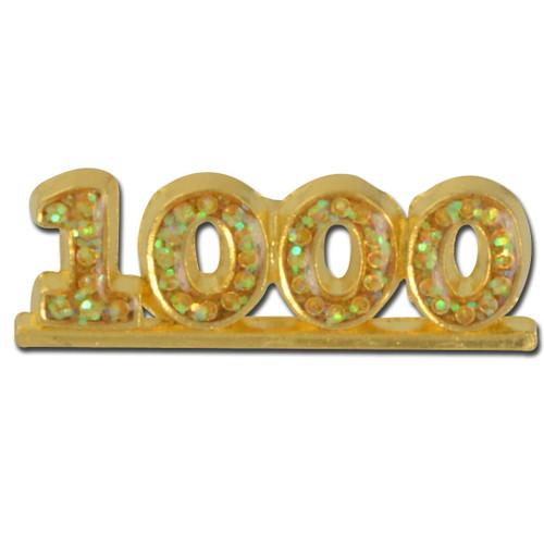 1000 Glitter Lapel Pin