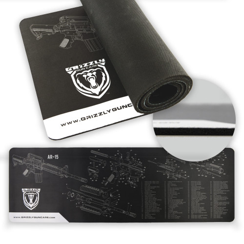 """Grizzly Mat Gun Cleaning Mat 