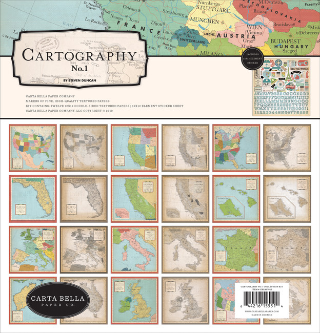 Cartography No. 1: Collection Kit
