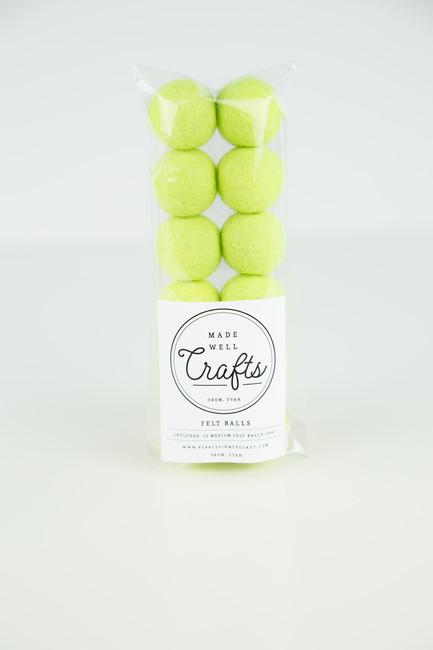 Felt Balls: Neon
